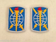 Lot of 2 US ARMY PATCH 500TH MILITARY INTELLIGENCE BRIGADE Class A Uniform