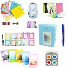 8 in 1 Instant Camera Accessories Bundles Set for Fujifilm Instax Mini 8 Blue