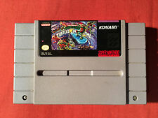 Super Nintendo Snes Tmnt Turtles In Time Original Teenage Mutant Ninja Good