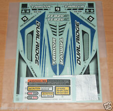 Tamiya 58596 Dual Ridge/TT02B, 9495832/19495832 Decals/Stickers, NIP
