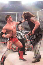 TNA ABYSS vs AJ Styles signed by both wrestling photo vintage classic 8x10 w/COA