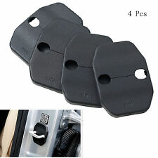 4 Pcs Car Exterior Door Lock Buckle Protector Cover Pad Guard For Mercedes-Benz