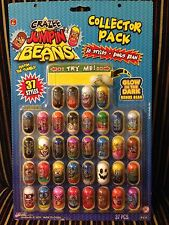 Crazee Jumpin/Jumping Beans Collector Pack 36 Styles +1 Bonus Bean (Brand New)
