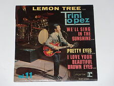 45 tours EP -  TRINI LOPEZ - LEMON TREE - 1965