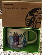 NEW BOXED STARBUCKS AMSTERDAM YOU ARE HERE COFFEE MUG 2016 FAST DISPATCH