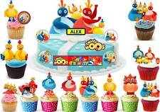 Twirlywoos Cup Cake 3D Scene Toppers Birthday Party Rice Wafer Edible STAND UP