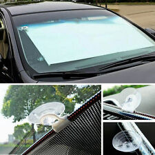 Retractable Auto Car Curtain Front Window Sun Shade Windshield Sunshade 58*125CM