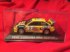 Mint condition Seat Cordoba WRC 1:43 Scale diecast model Rally Car #44