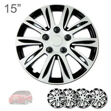 "FOR HONDA NEW 15"" ABS SILVER RIM LUG STEEL WHEEL HUBCAPS COVER 547"