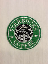 Starbucks Coffee Store Corporate Logo Hat Shirt Jacket Embroidered Iron On Patch