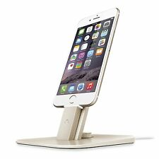 Twelve South HiRise Deluxe Charger Stand Mount Desktop iPhone 6 7 iPad - Gold