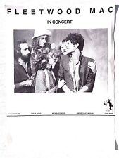 RARE Vtg FLEETWOOD MAC ORIGINAL 1979 TUSK Concert Tour Poster (Stevie Nicks)