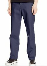 NEW~DICKIES~Navy Blue~ORIGINAL 874 Work Pants~Men 40 x 37~EXTRA LONG (Unhemmed)