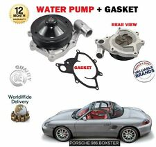 FOR PORSCHE BOXSTER 986 2.5 2.7 3.2 S 1996--  NEW WATER PUMP + GASKET KIT