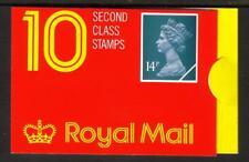 GB GK3 1988 10 x 14P (£ 1.40) BARCODE BLOCCHETTO