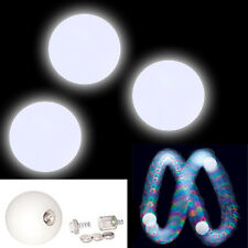 Set of 3 LED Glow Juggling Balls Strobe Effect - Light Up Ball