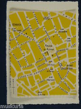 ak~ handmade greetings / birthday card CREMONA STREET MAP
