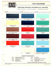 1956 PLYMOUTH FURY PLAZA BELVEDERE SAVOY 56 PAINT CHIPS RINSHED MASON 7