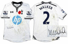 Kyle Walker Match Worn Tottenham Hotspur Shirt COA
