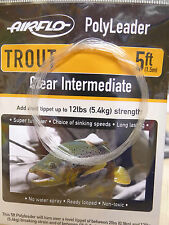 AIRFLO Polyleader TROUT 5ft /1,50 Mtr. CLEAR INTERMEDIATE
