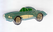 RARE PINS PIN'S .. AUTO CAR ANCIENNE OLD 1960 AMERICAINE USA  CORVETTE BLEU ~CQ