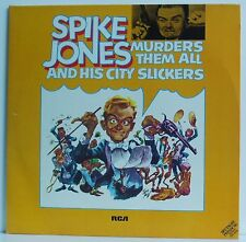 2LP Spike Jones and his City Slickers Murders Them All  RCA 1973