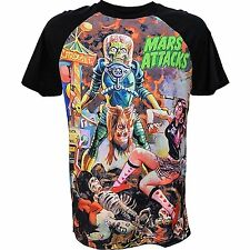 Kreepsville 666 Mens Mars Attacks Sin City Skinner T Shirt X Large
