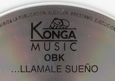 "OBK ""LLAMALO SUEÑO"" RARE MISPRINTED SPANISH CD FIRST EDITION KONGA/ DEPECHE MODE"