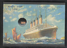 TITANIC CARD COLLECTION (Cult-Stuff/2012) ARTIFACT CARD WOOD FROM RMS OLYMPIC