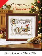 GNOME FOR CHRISTMAS   -  CROSS STITCH PATTERN ONLY  GU - VEW