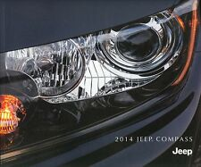 2014 Jeep Compass Limited Latitude Sport Dealer Sales Brochure w/Buyer's Guide