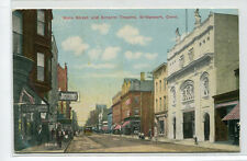 Empire Theater Theatre Main Street Bridgeport Connecticut 1912 postcard