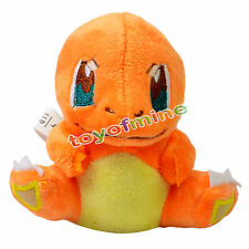 "New 5"" Charmander Pokemon Rare Soft Plush Toy Doll"