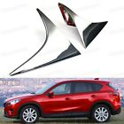 2pcs Chrome Rear Window Side Cover Trim Fit for Mazda CX-5 2012-2015 13 14
