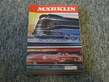 1 CASE OF 25 NEW 1970 MARKLIN CATALOGS IN ENGLISH  HO SLOT CARS AND 1 GAUGE