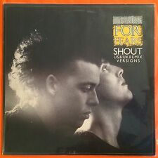 "TEARS FOR FEARS - Shout - 12"" Single (Vinyl LP) US & UK remix POL 880929"