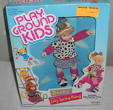 #9375 NRFB Vintage Ertl Play Ground Kids Becky and her Silly Spring Thing