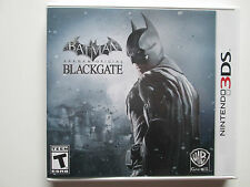 Batman: Arkham Origins -- Blackgate (Nintendo 3DS, 2013) No Manual (NTSC/US/CA)