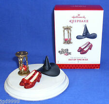 Hallmark Miniature Ornament Set The Wizard of Oz Out of Time in Oz 2013 Limited
