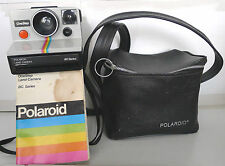 Polaroid SX-70 Rainbow OneStep BC Series Instant Camera +Case & Manual - TESTED