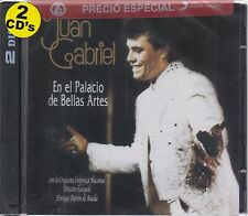748211066728 Juan Gabriel CD NEW CAJA NEGRA En El Palacio De Bellas Artes 2 CD