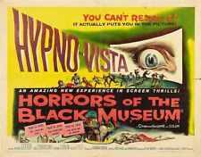 Horreurs du musée Noir Poster 02 A2 Box Toile imprimer