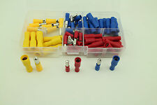 80PCS Male&Female Insulated Bullet Connector Terminals Assortment Kit 22-10AWG