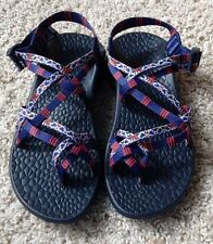 Chaco Ecotread X2 Sandal - Adjustable Straps - Women's Size 8 - Florentine Red