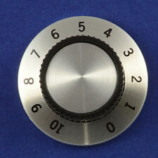 """Calibrated 0-10 Control Knob 37mm diameter 1/4"""" 6mm Round or D shaft"""