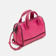 Botkier Soho Bite Size Top Handle Satchel in Fuchsia Leather