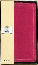 NIV Bible Clutch ( Hot Pink Leather)