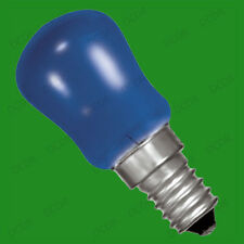 6x 15W Coloured Pygmy Sign Light Bulbs, Display Lamp, Small Screw Cap, SES, E14