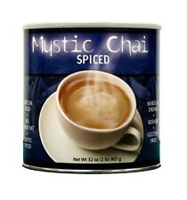 Mystic Chai Spiced Tea 2 lb Can Hot or Cold Instant Powder Drink Mix