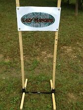 lazyhanger Compact Steel Target Stand Fit IDPA & IPSC Targets ADVANCED